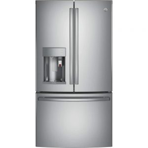 GE French Door Refrigerator with K-Cup Brewing System and WiFi Connect