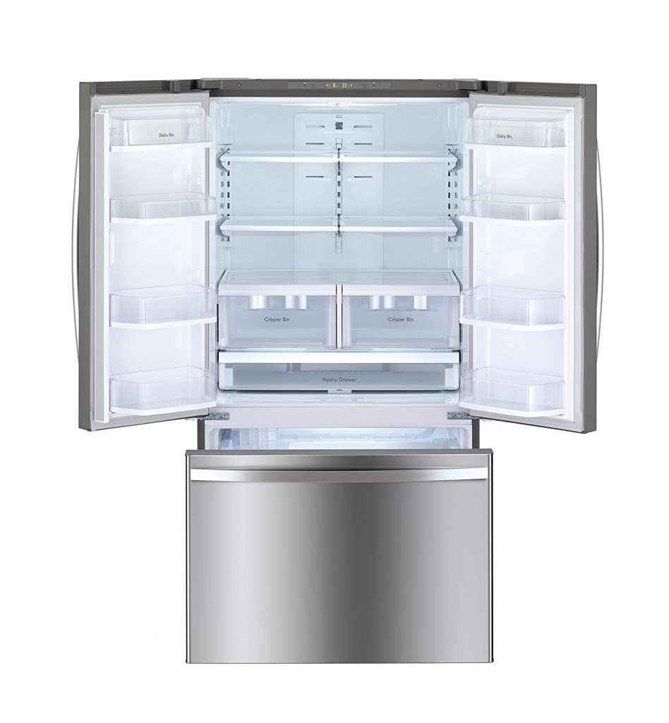 how to clean a Kenmore refrigerator