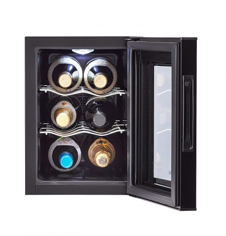 Haier 6-Bottle Wine Cooler with Wine