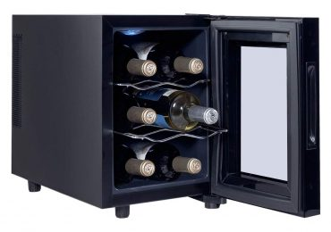 Costway 6-Bottle Wine Cooler Review — In-depth Review