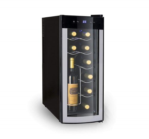 Igloo 12-Bottle Wine Cooler With Curved Door