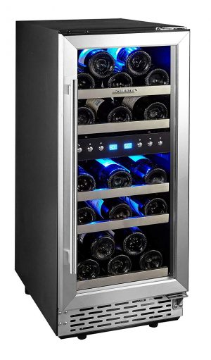 Phiestina 29-Bottle Compressor Wine Cooler