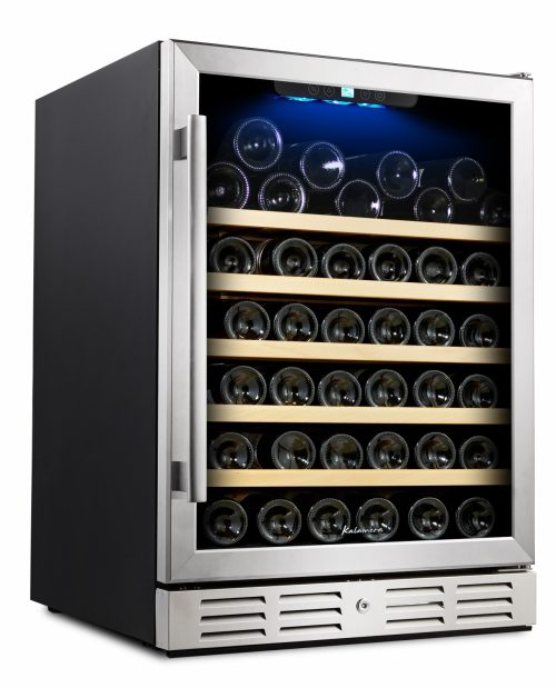 Wine Refrigerator Reviews >> Kalamera 54 Bottle Wine Cooler Detailed Review In Depth