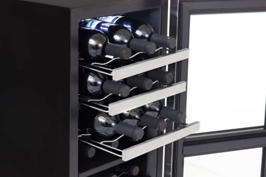 Whynter 24-Bottle Dual Zone Wine Cooler -- 1