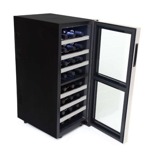 Whynter 24-Bottle Dual Zone Wine Cooler --2