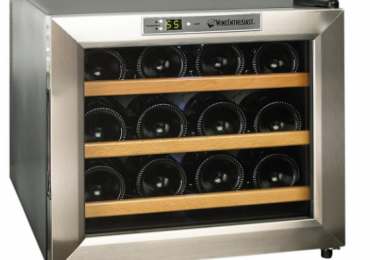 Wine Enthusiast 12-Bottle Wine Cooler — In-depth Review