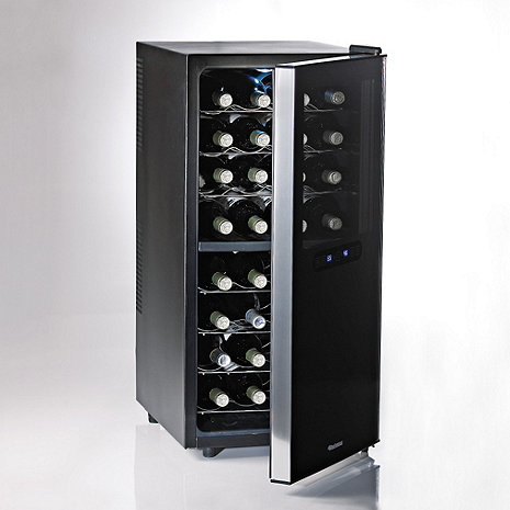 Wine Enthusiast 32-Bottle Dual Zone Wine Cooler