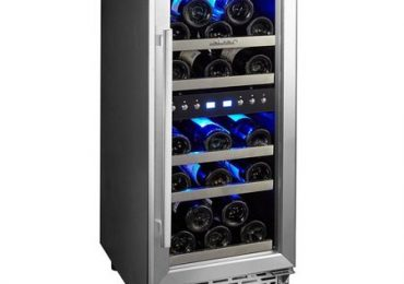 Phiestina 29-Bottle Dual Zone Wine Cooler [In-depth Review]