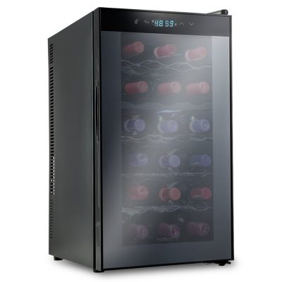 Wine Refrigerator Reviews >> Ivation 18 Bottle Dual Zone Wine Cooler Detailed Review