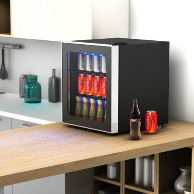 Costway 60-Can Beverage Cooler -- counter