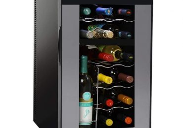 NutriChef 18-Bottle Dual Zone Wine Cooler [Extensive Review]