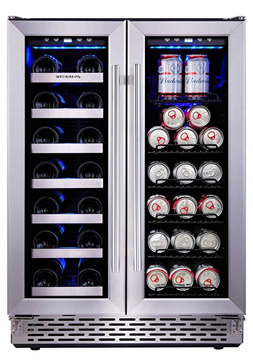 Phiestina 24-Inch Beverage and Wine Cooler