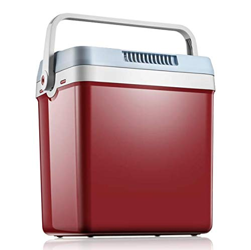 Tibek 27.5-Quart 12V Fridge/Warmer with Automatic Locking Handle