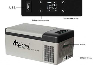 Alpicool 15-Liter 12V Mini Fridge/Freezer [Extensive Review]
