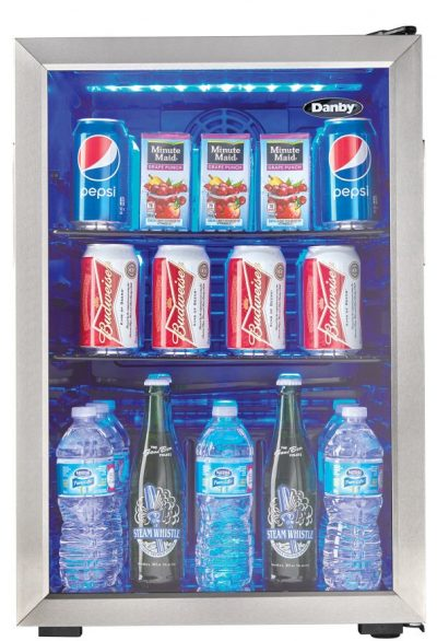 Danby 95-Can Beverage Refrigerator -- front