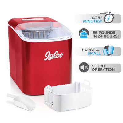 Igloo 26-Pound Ice Maker