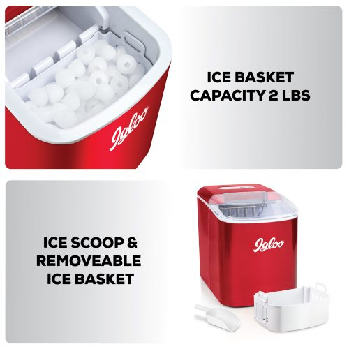 Igloo Pound Ice Maker-features