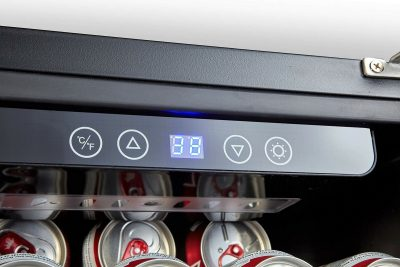 Phiestina 106-Can Beverage Refrigerator -- Digital control