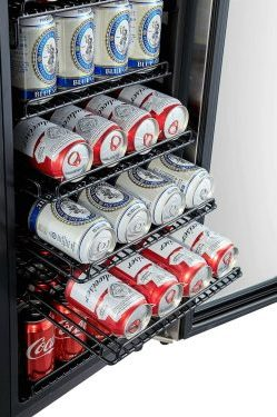 Phiestina 100-Can Beverage Refrigerator [In-depth Review]