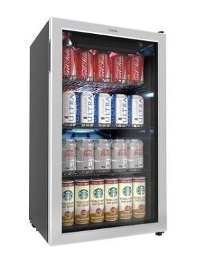HomeLabs 120-Can Beverage Refrigerator [Detailed Review]