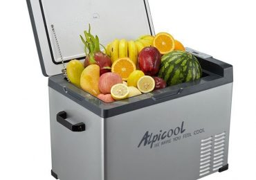 Alpicool 40-Liter Portable 12V Refrigerator with Wheels — Indepth Review