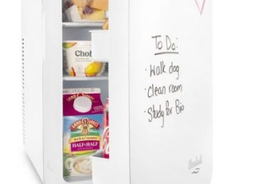 Cooluli Vibe 15-Liter Mini Fridge with Dry-Erase Board [Detailed Review]