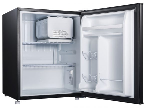 Galanz 2.7- Cubic Foot Compact Refrigerator -- 2