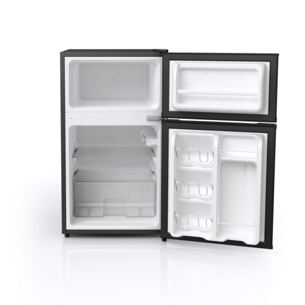 Midea 3.1-Cubic Foot Double Door Mini Fridge --4