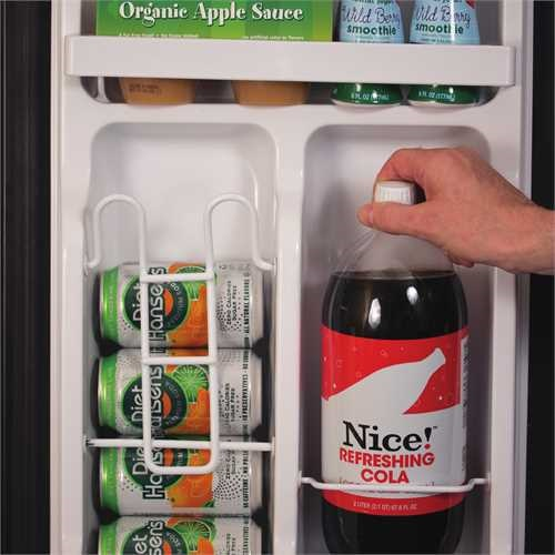 Black and Decker 2.5-Cubic Feet Mini Fridge