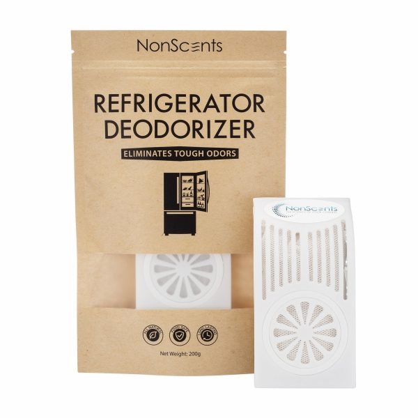 How to Get Fish Smell Out of Your Fridge -- Nonscents Refrigerator Deodorizer