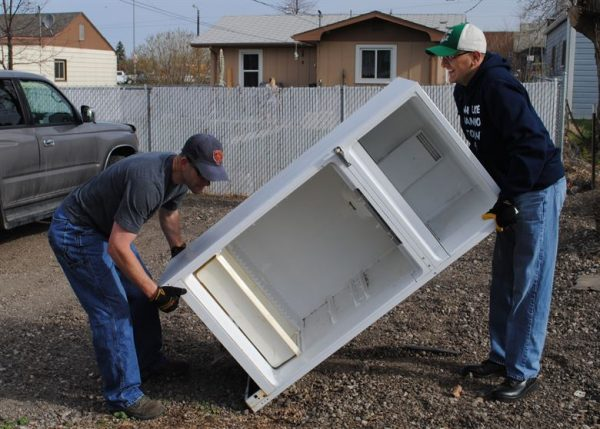 How to Move a Fridge without a dolly