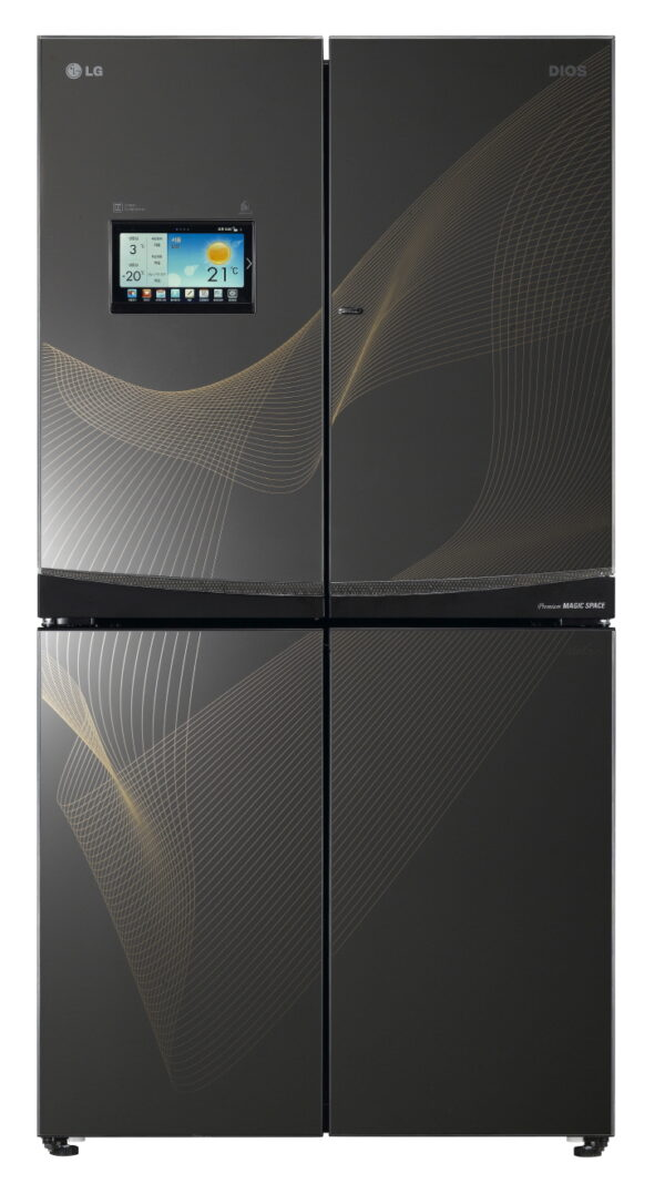 how to reset an LG refrigerator