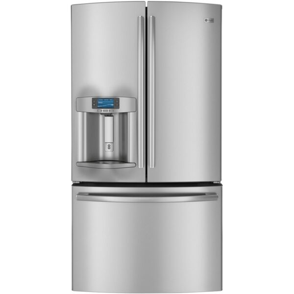 how to adjust temperature in a GE refrigerator